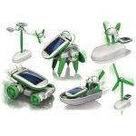 Diy 6 In 1 Educational Solar Toy Robot Kit
