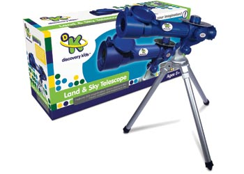 Discovery Kids Land Sky 30x Telescope