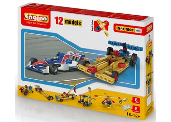 Engino - Inventor Basic - 12 Models Set