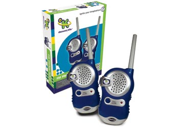 Discovery Kids FM Walkie Talkies