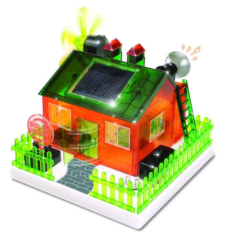 DIY Solar Powered Eco-House Science Kit