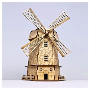 DIY Holland Windmill Style Solar Powered Toy
