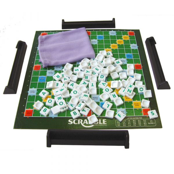 Scrabble is best Indoor Family Educational Toy