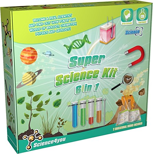6 in 1 science kit