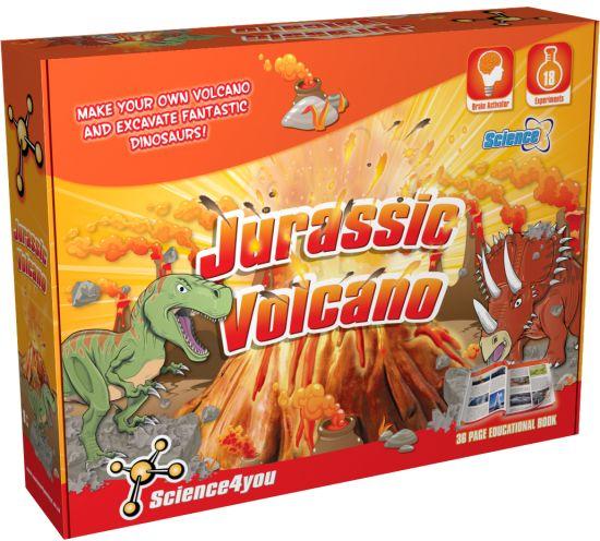 Jurassic Volcano