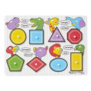 M&D - Shapes Peg Puzzle toys