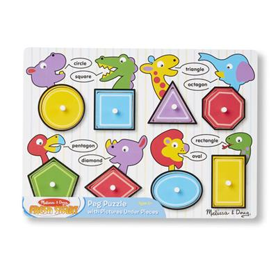 M&D – Shapes Peg Puzzle