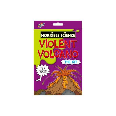 Horrible Science Violent Volcano Educational Science Kit