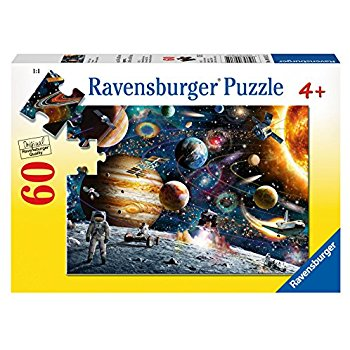 Ravensburger Outer space puzzle