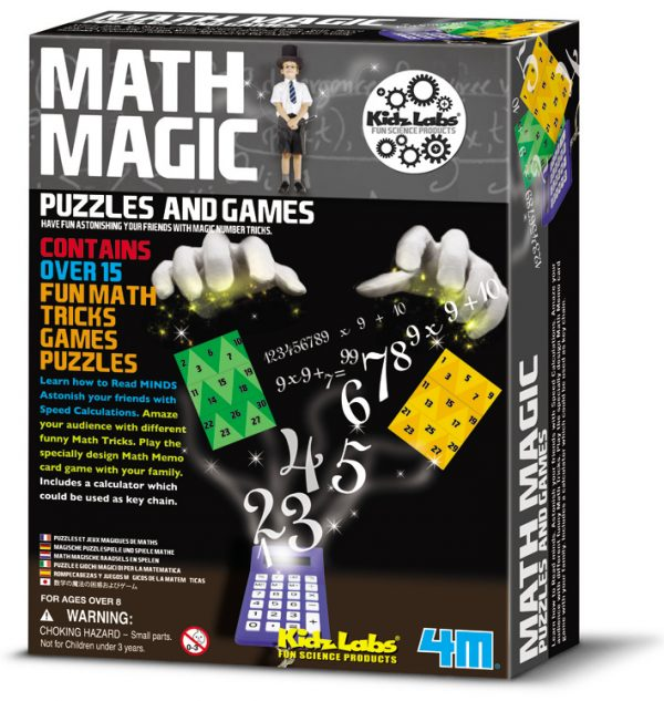 4M Kidz Labs Math Magic Game