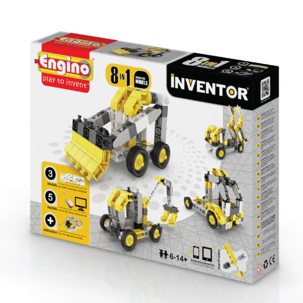 8 Models Industrial - Engino Inventor series