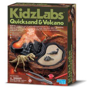 4M - Quicksand & Volcano