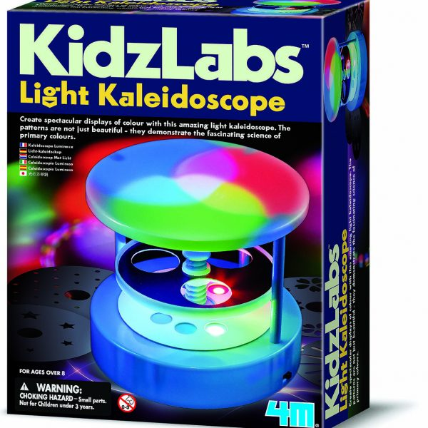 4M KidzLabs Light Kaleidoscope Science Kit