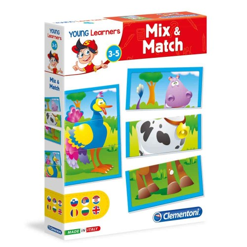 Young learners Mix and Match