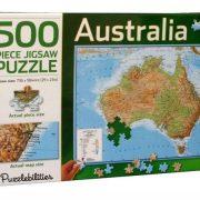 Australia 500 Piece Jigsaw Puzzle