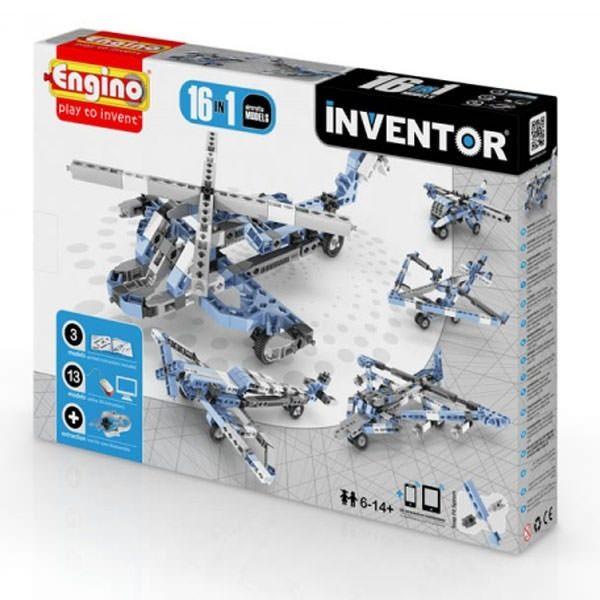 ENG Inventor - 16 Models of Aircraft