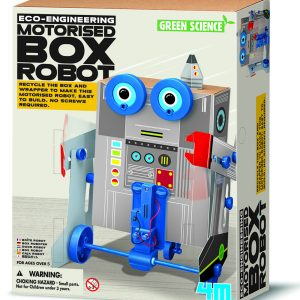 4M - Box Robot - Green Science