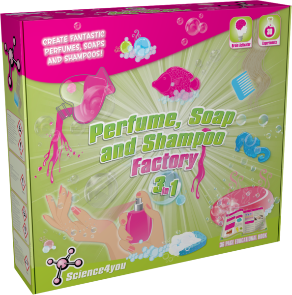 Science4u Perfume, Soap and Shampoo Factory 3 in 1