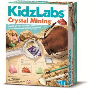 4M Kidz Lab Crystal Mining