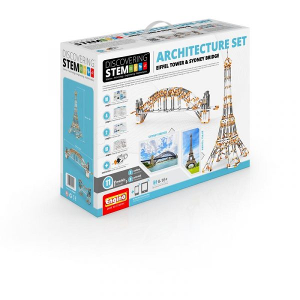 ENG STEM Architecture Set - Eiffel Tower & Sydney Harbour Bridge