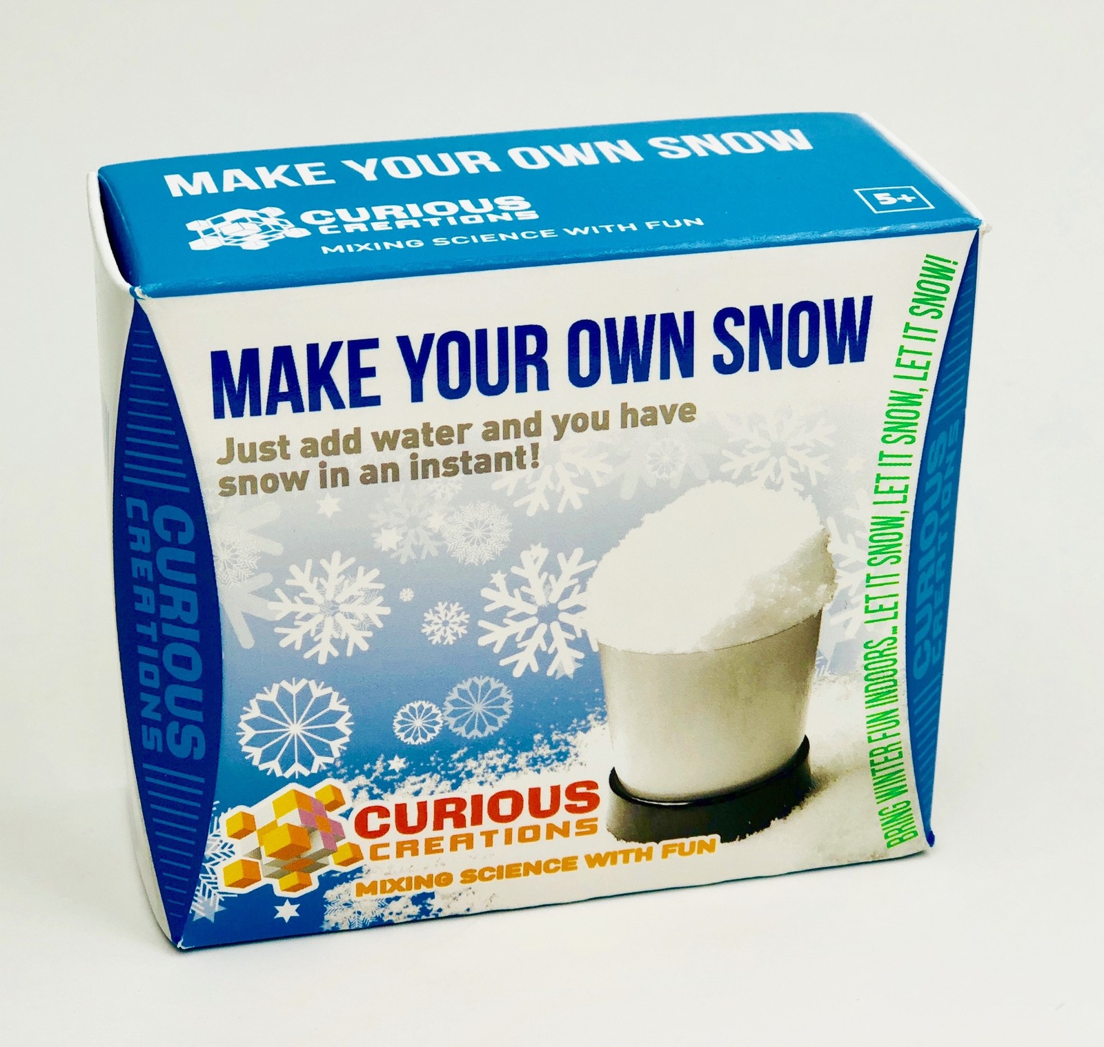 how to make your own snow machine