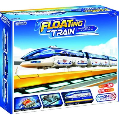 Magnetic levitation Floating Train