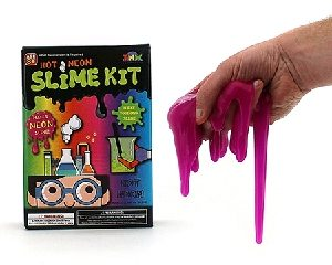 COLOURED SLIME MAKING KIT