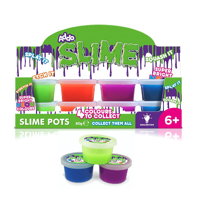 Addo – Slime Pot 80g 4 colours