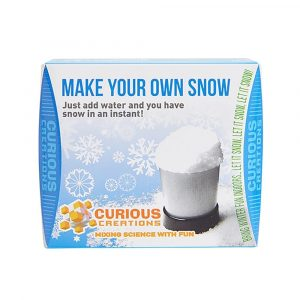 CURIOUS CREATIONS – MAKE YOUR OWN SNOW