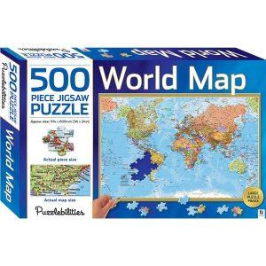 World map - 500 piece Jigsaw