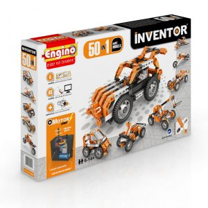 Engino Inventor 50 Models Motorised Set