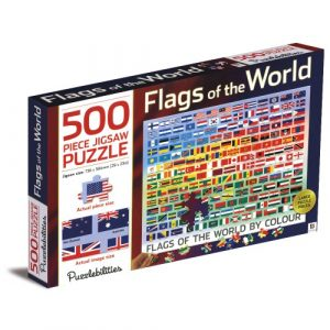 Flags of the world - 500 piece Jigsaw