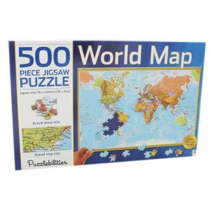 World map – 500 piece Jigsaw