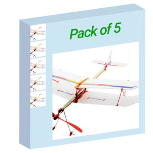 Rubber Band Plane - Pack of 5