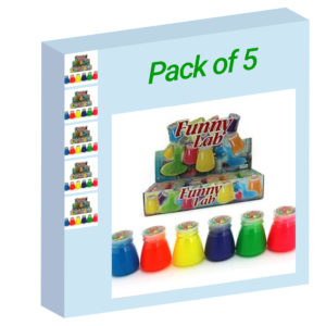 Neon Slime - Pack of 5