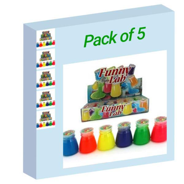 Neon Slime - Pack of 5