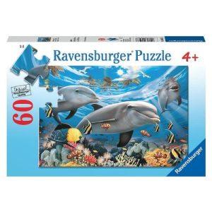 Ravensburger Sea of sharks Puzzle 60pc