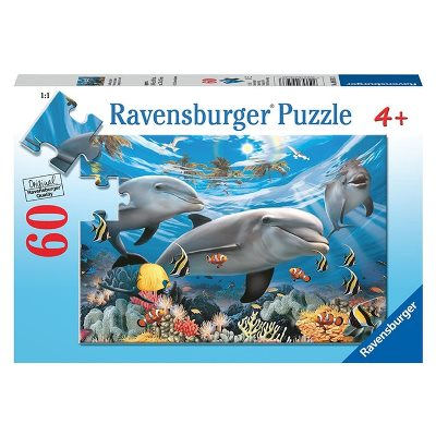 Ravensburger Sea of sharks Puzzle 60pc