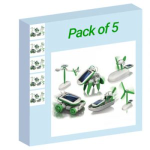 6 in 1 Solar without packaging (PP packaging) - Pack of 5