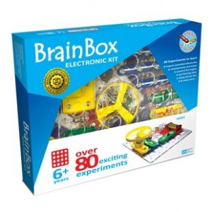 Click Electronics Kit – 80 Experiments (Brain Box)