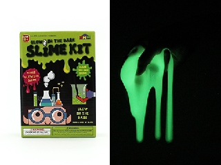 Glow in the dark slime making kit