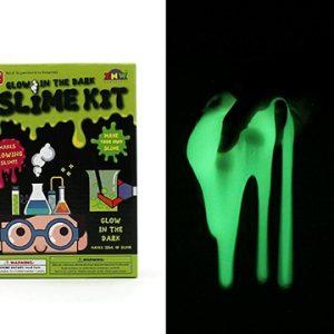 Glow in the dark slime making kit