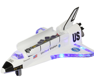 Large Space Shuttle with Light & Sound