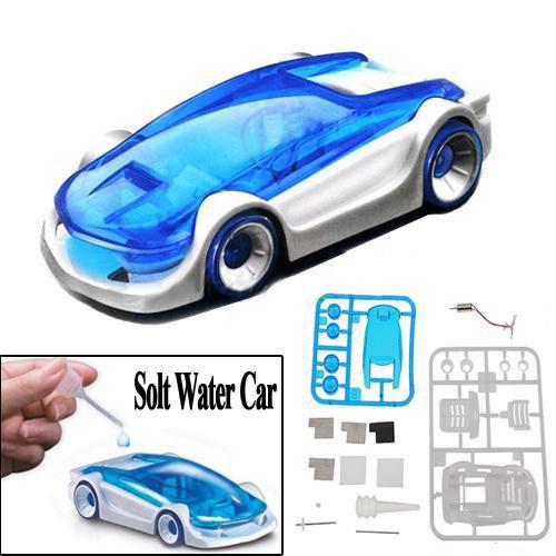 Salt Water Powered car