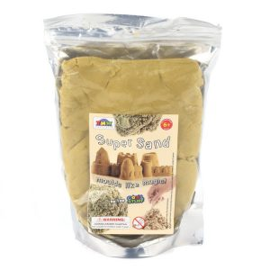 Super sand 500gms resealable bag (sand color)