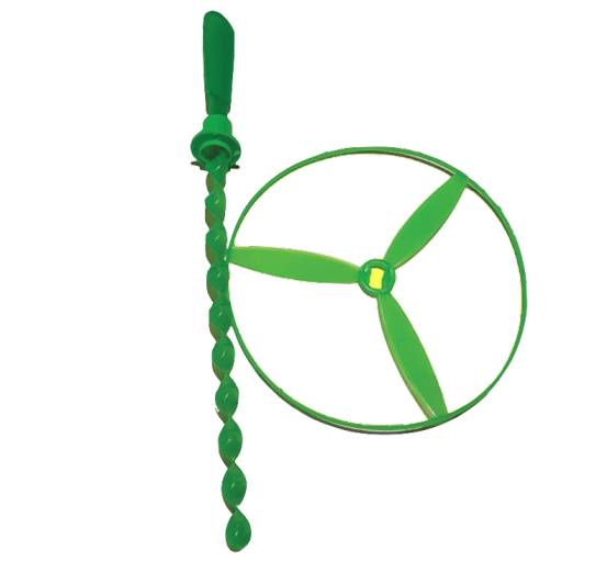 Helicopter Spiral pop top