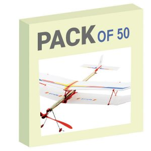 Rubberband Plane - Pack of 50