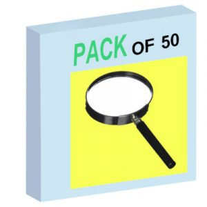 Magnifying Lens - Pack of 50