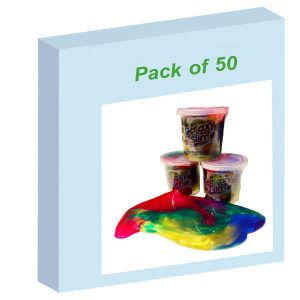 Galaxy Slime 65gm - Pack of 50