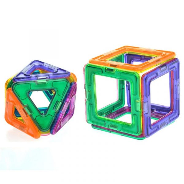 28 Pieces UniMag Magnetic building blocks